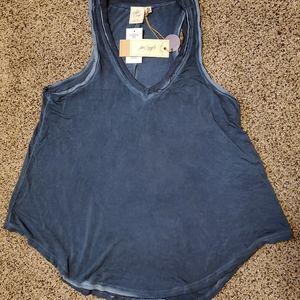 Women's white crow brand tank top